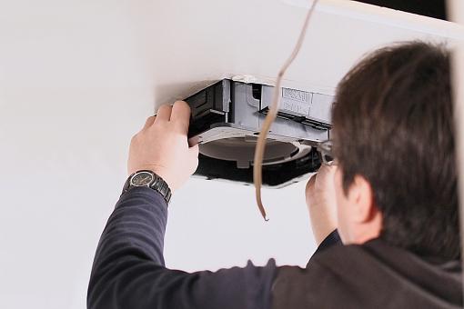換気扇の工事について