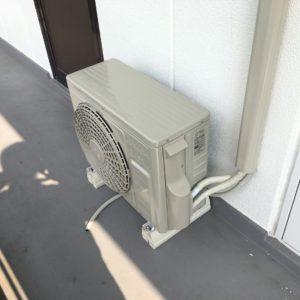 松本市でエアコンの取り付けをしました